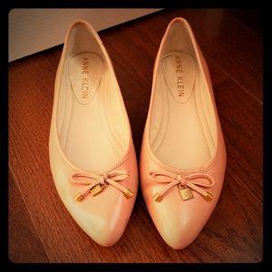 Anne Klein Pink Ballet Flats NWOT sz 8.5